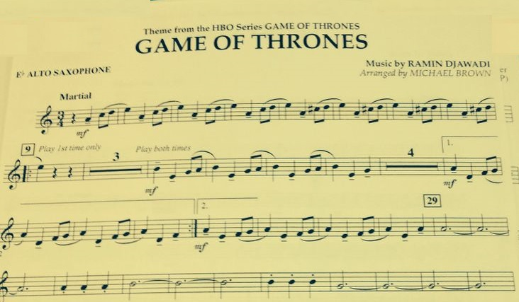 gamethrones alto sax